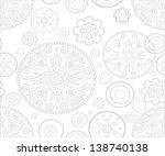 seamless patterns. vector | Shutterstock .eps vector #138740138