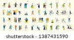 vector illustration in a flat...   Shutterstock .eps vector #1387431590