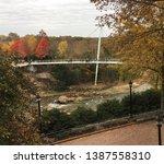 liberty bridge in downtown... | Shutterstock . vector #1387558310