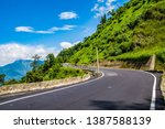 this is the mountain of taiwan. ... | Shutterstock . vector #1387588139