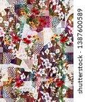Watercolor Flower Digital...