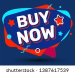 vector fashion bright badge on... | Shutterstock .eps vector #1387617539