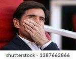 manager of valencia  marcelino  ... | Shutterstock . vector #1387662866