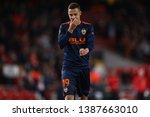 rodrigo moreno of valencia... | Shutterstock . vector #1387663010