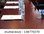 interior of empty conference... | Shutterstock . vector #138770270