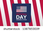 memorial day in united states.... | Shutterstock .eps vector #1387853039