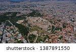 aerial birds eye view photo...   Shutterstock . vector #1387891550