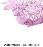 watercolor paint background... | Shutterstock . vector #1387898816