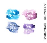 """inscription """"love you"""" with... 