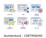 seo and digital marketing color ...