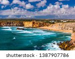 Panorama View Of Praia Do Tone...