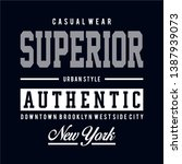 superior design typography... | Shutterstock .eps vector #1387939073