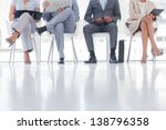 group of well dressed business... | Shutterstock . vector #138796358