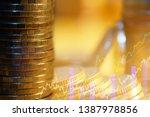 stock market or forex trading... | Shutterstock . vector #1387978856