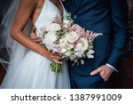 Wedding Bouquet Of White And...