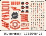 vintage retro vector logo for... | Shutterstock .eps vector #1388048426