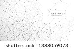 abstract particle background.... | Shutterstock .eps vector #1388059073