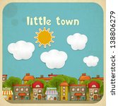 Little Town. Townhouses In A...