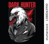 dark hunter red mafia...   Shutterstock .eps vector #1388063900