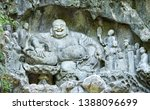 Budai Buddha at the Lingyin temple in Hangzhou, China