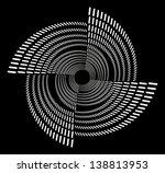 black background white dot... | Shutterstock .eps vector #138813953