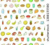 food images. background for... | Shutterstock .eps vector #1388155580