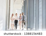professionals communicating... | Shutterstock . vector #1388156483