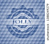 jolly blue emblem or badge with ...   Shutterstock .eps vector #1388249279