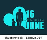 happy fathers day flyer  banner ... | Shutterstock .eps vector #138826019
