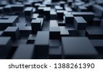 abstract 3d render  modern... | Shutterstock . vector #1388261390