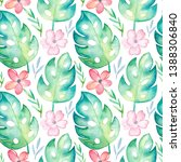 seamless pattern with...   Shutterstock . vector #1388306840