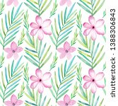 seamless pattern with...   Shutterstock . vector #1388306843