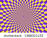 optical spiral illusion. magic... | Shutterstock .eps vector #1388321153