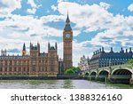 Palace Of Westminster In Londo...