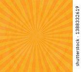 cardboard orange wrinkles... | Shutterstock .eps vector #1388332619
