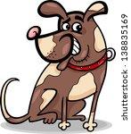 cartoon illustration of funny... | Shutterstock . vector #138835169