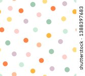 seamless pattern with... | Shutterstock .eps vector #1388397683