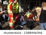 berlin  germany   may 1  2019 ... | Shutterstock . vector #1388446346