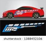 vinyls sticker decals for body... | Shutterstock .eps vector #1388452106