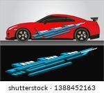 vinyls sticker decals for body... | Shutterstock .eps vector #1388452163