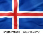 National flag of iceland  ...