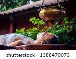 ayurveda massage alternative... | Shutterstock . vector #1388470073