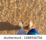 crystal clear water in sharm el ...   Shutterstock . vector #1388536706