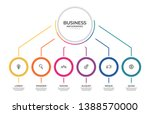 business infographic template.... | Shutterstock .eps vector #1388570000