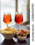 italian aperitives aperitif ...   Shutterstock . vector #1388606990