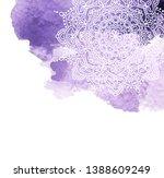 watercolor paint background... | Shutterstock . vector #1388609249