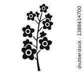 rape plant icon. simple... | Shutterstock .eps vector #1388614700