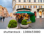 rome  italy   april 4  2019 ...   Shutterstock . vector #1388653880