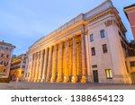 rome  italy   april 4  2019 ...   Shutterstock . vector #1388654123