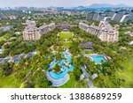 lingshui  hainan  china  ... | Shutterstock . vector #1388689259